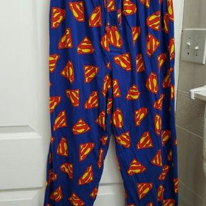 NWOT Superman lightweight lounge/sleeping pants