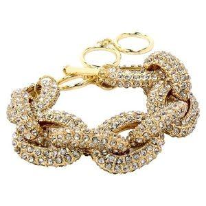 Jewelry - Pave Stone Link Bracelet