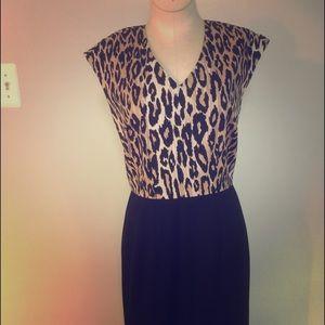Ellen Tracy Dresses & Skirts - Ellen Tracy Leopard Dress 6P
