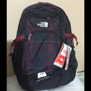 The North Face Other - Black and Red NorthFace Bookbag