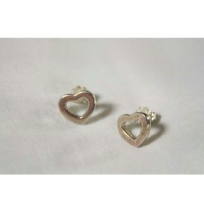 Tiffany & Co. Accessories - Rare Tiffany and Co. Heart Earrings