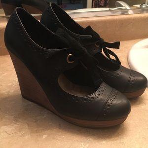 Restricted Shoes - Vintage inspired wedge heels