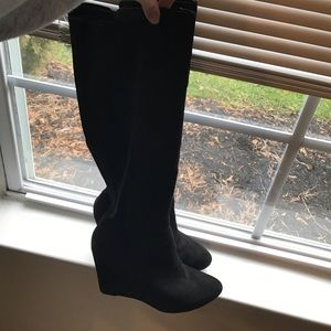 Mossimo Supply Co Shoes - Knee high suede boots - size 9