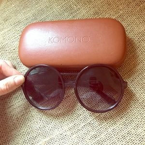 Komono Accessories - Round-Framed Sunglasses