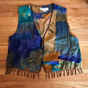 Petite Sophisticate Other - Unique & Fab Vest