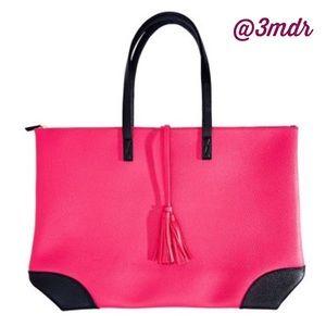 Host Pick Hot Pink Overnight Bag