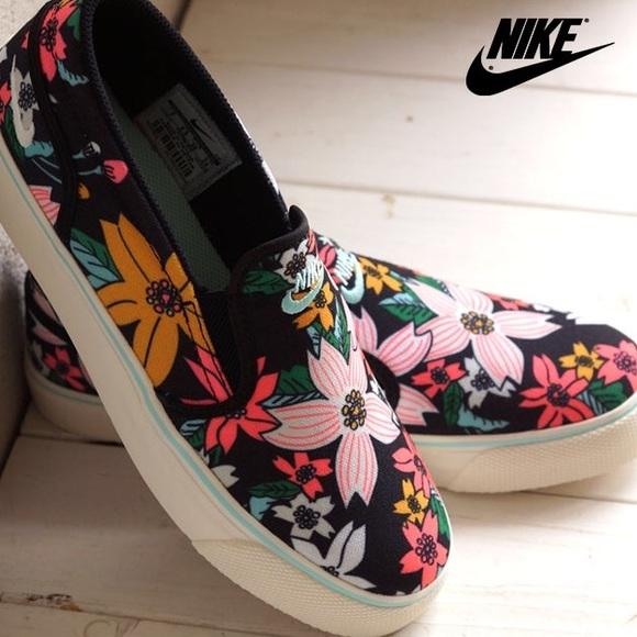 Nike Shoes | Nike Toki Slip Print Slip