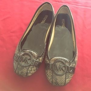 Michael Kors flats perfect condition