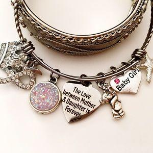 Jewelry - 🎀👣BABY GIRL Personalized Charm Bracelet Gift