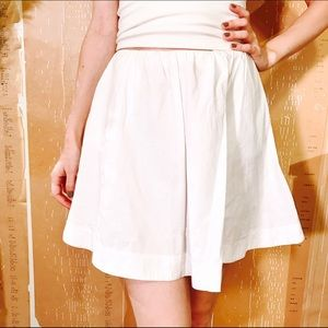 KATE SPADE SATURDAY EMBROIDERED WHITE SKIRT #657
