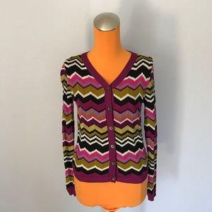 Missoni Sweaters - Missoni Chevron Cardigan Sweater