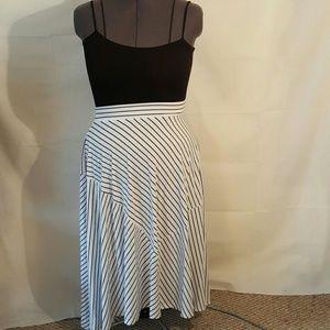 torrid Dresses & Skirts - TORRID BLACK AND WHITE STRIPED MAXI SKIRT