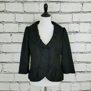 Classiques Entier Jackets & Blazers - Classiques Entier Ruffle Blazer!