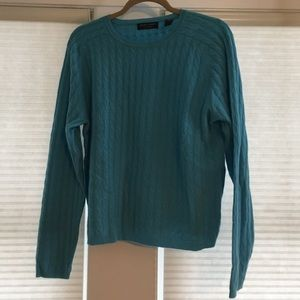 Light blue/teal cashmere sweater