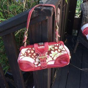Isabella Fiore Handbags - 👀Isabella Fiore beaded handbag beltbuckle closure