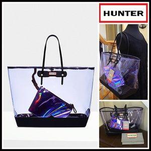 Hunter Boots Handbags - HUNTER Original Large Clear Tote