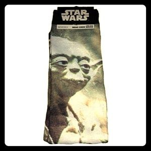 Bioworld Other - NWT Star Wars Yoda Men's socks