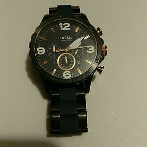Fossil Other - Fossil 100 Series Mens Watch 💜 NOT A BOGO Item 💜