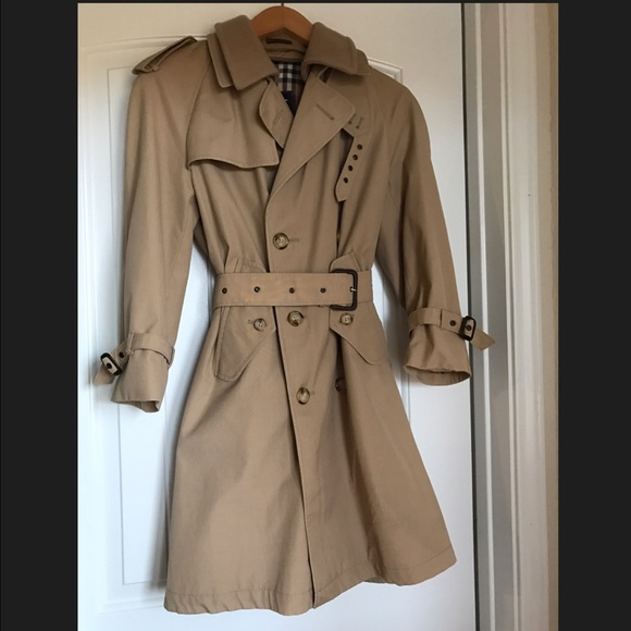 super service clients first volume large GANT Trench Coat