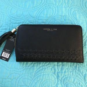 Olivia + Joy Handbags - 💥NWT Olivia & Joy  zip around wallet