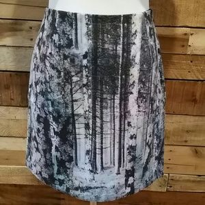 Catherine Malandrino Dresses & Skirts - Catherine Malandrino forest photo skirt
