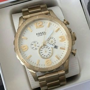 Fossil  Other - NWT Fossil Chronograph Gold-tone watch