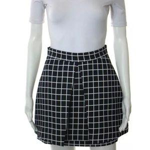 Cameo Dresses & Skirts - CAMEO black white A line skirt size S NWT