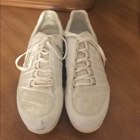 23de65408320 Puma off white satin sneakers 7.5. M 587e7ead78b31c49e9136de3