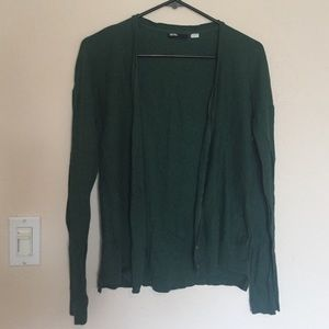 Dark green cardigan from Urban Outfitters