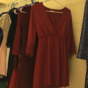 Tobi Dresses & Skirts - Garnet Tobi dress