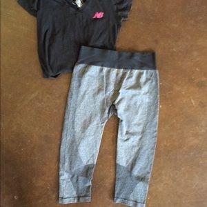 New balance Capri active wear. Size large
