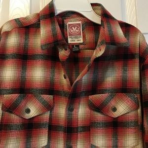 Micros Other - Micros Los Angeles flannel plaid button down shirt