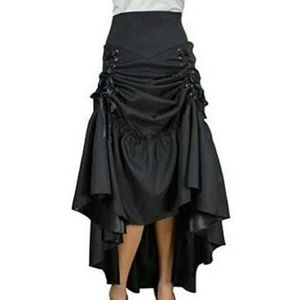 Adjustable 3-in-1Victorian Steampunk Skirt