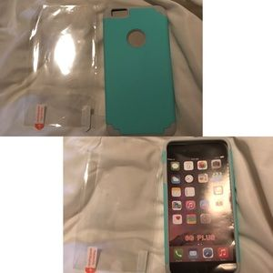 phone Accessories - Iphone Case and Screen Protector