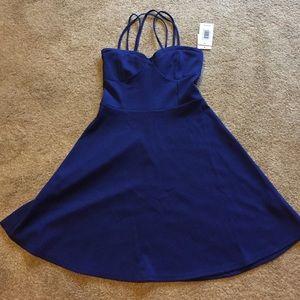 2xist Dresses & Skirts - JustFab royal blue dress