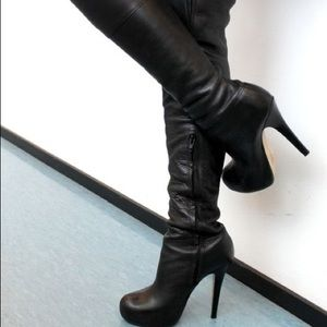 Zara Shoes - Over the knee boots NWOT!!