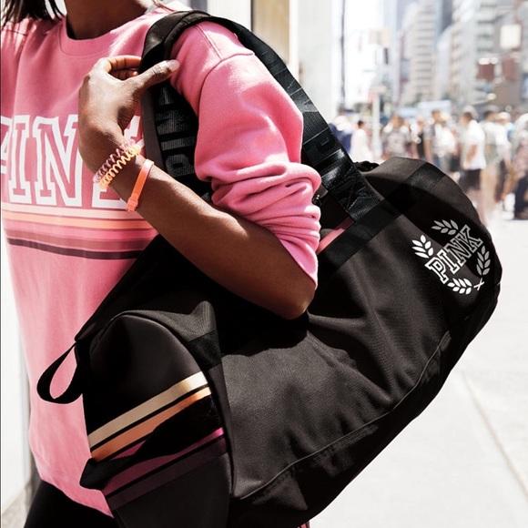 a324d7ea737203 PINK Victoria's Secret Bags | New Victoria Secret Duffle Gym Bag ...