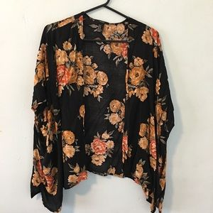 Forever 21 Sweaters - Forever 21 Floral Cardigan