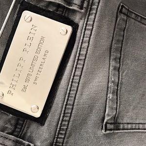 Philipp Plein Pants - Philipp Plein Slim Fit grey Jeans M