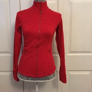 lululemon athletica Jackets & Blazers - Red Lululemon define jacket