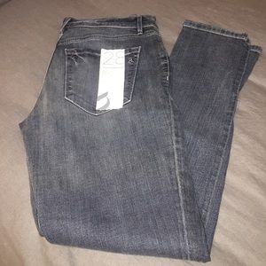 Loft slouchy skinny jeans