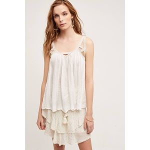 NWT Anthro Vanessa Virginia Cutwork Gauze Tank