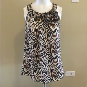 A. Byer Tops - A. Byers Sleeveless Blouse