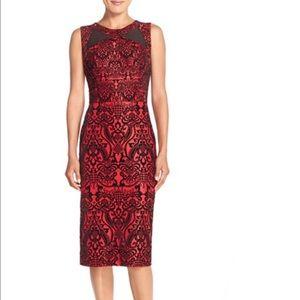 ECI Dresses & Skirts - Flecked scuba sheath dress