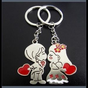 ❤️ His/Hers Lovers Keychain Set