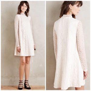 Anthropologie Lace Enid Swing Dress HD Paris