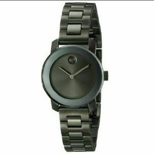 Movado Accessories - NWT Movado Grey Stainless ladies watch
