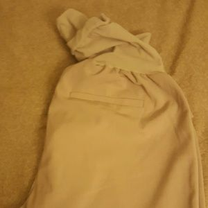 Motherhood maternity tan dress pants size M