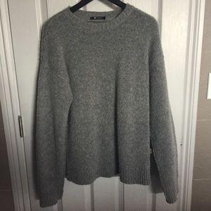 T by Alexander Wang Sweaters - T by Alexander Wang Grey Wool Sweater