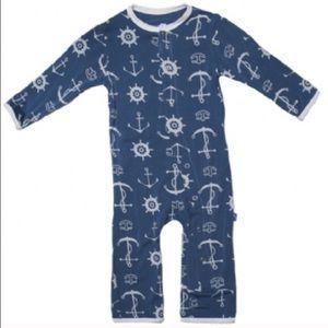 Kickee Pants Other - Blue anchor kickee Pants